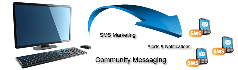 SMS Marketing, Community Messaging, Alerts and Notification